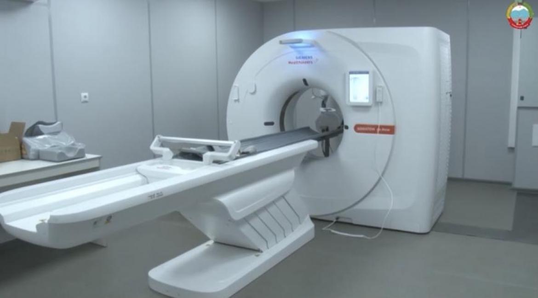 Современный компьютерный томограф появился в больнице Буйнакского района