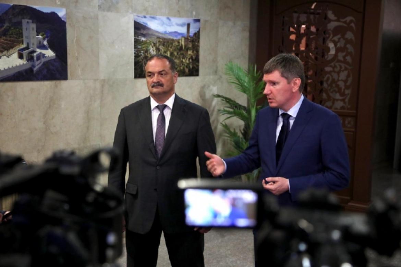 Максим Решетников заявил о планах по развитию различных сфер жизни Дагестана