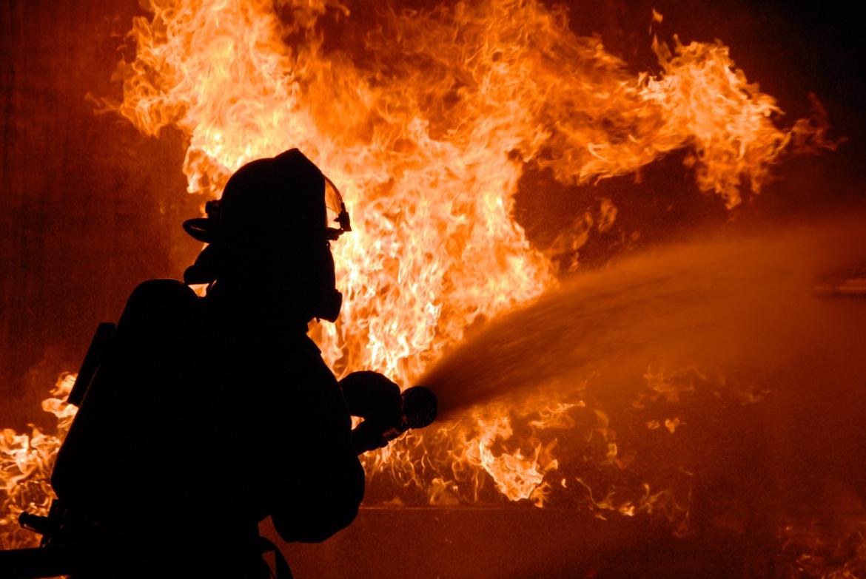 В Дагестане горела нефтебаза