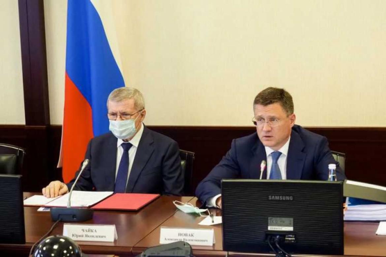 Врио Главы Дагестана Сергей Меликов принял участие в совещании по вопросам социально-экономического развития СКФО